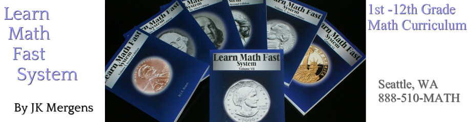 Free Interactive Placement Test from Learn Math Fast Books - Learn